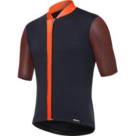 Santini Origine Maillot de cyclisme à manches courtes Homme, arancio fluo